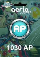 Grand Fantasia 1030 Aeria Points