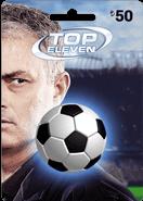 Top Eleven 50TL Facebook Kartı