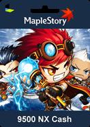 MapleStory 9500 Nexon Cash (Nx)