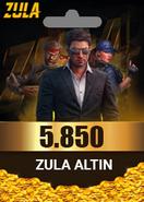 Zula 5.850 Altın