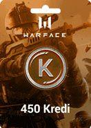 Warface Crytek 450 Kredi