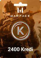Warface Crytek 2400 Kredi