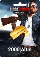 First Blood Er Meydanı 2000 Altın