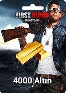 First Blood: Er Meydanı 4000 Altın