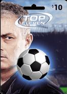 Top Eleven 10TL Facebook Kartı