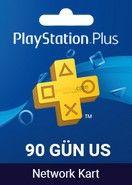 Playstation Plus Card 90 Days US