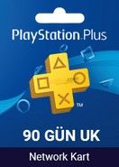 Playstation Plus Card 90 Days UK
