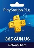 Playstation Plus Card 365 Gün US