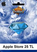 Apple Store Heroes Titans 25 TL