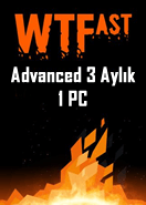 WTFast Advanced 3 Aylık 1 Pc