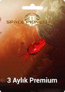 Space Pioneers 2 - 3 Aylık Premium