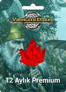 Vikingler Diyarı 12 Aylık Premium