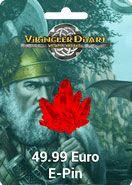 Vikingler Diyarı 49.99 Euro Epin