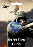 WarGame 1942 49.99 Euro Epin