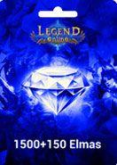 Legend Online Reborn 1500 + 150 Elmas