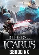 Riders of icarus 38000 Nexon Cash