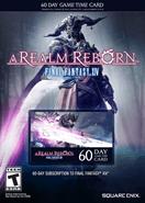 Final Fantasy XIV A Realm Reborn 60 Days Game Time Card Eu