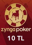 Zygna Texsas Holdem Poker 10TL