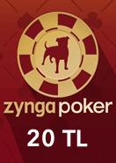 Zygna Texsas Holdem Poker 20TL