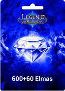 Legend Online 600 +60 Elmas