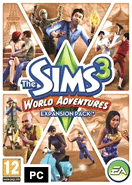 The Sims 3 World Adventures DLC Origin Key