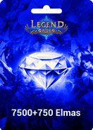 Legend Online 7500 +750 Elmas