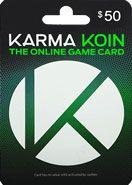 Karma Koin 50 USD