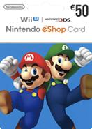 Nintendo eShop Gift Cards DE 50 Euro