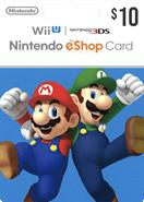 Nintendo eShop Gift Cards US 10 Dolar