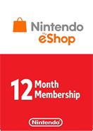 Nintendo eShop Gift Cards 12 Month  Membership US