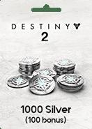 Destiny 2 1000 Silver Xbox One