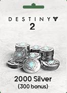 Destiny 2 2000 Silver Xbox One