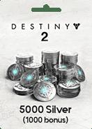 Destiny 2 5000 Silver Xbox One