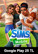 Google Play 25 TL The Sims Mobile