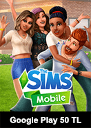 Google Play 50 TL The Sims Mobile