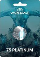 Warframe 75 Platinum