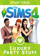 The Sims 4 Luxury Party Stuff Pack DLC Origin Key