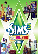 The Sims 3 70s 80s 90s Stuff pack DLC Origin Key