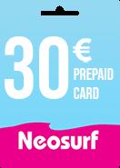 Neosurf Prepaid Card 30€