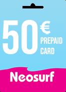 Neosurf Prepaid Card 50€