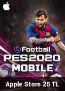 eFootball PES 2020 Mobile Apple Store 25 TL Bakiye