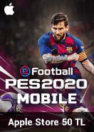 eFootball PES 2020 Mobile Apple Store 50 TL Bakiye