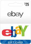 eBay Gift Card 25 USD