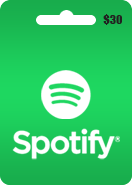 Spotify Gift Card 30 USD