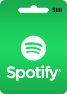 Spotify Gift Card 60 USD