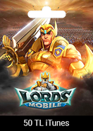 Apple Store 50 TRY Lords Mobile