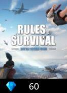 Rules of Survival 60 Diamonds