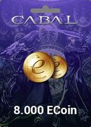 Cabal Online Eu 8.000 ECoin