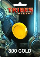 Tribes Ascend 800 Gold