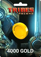 Tribes Ascend 4000 Gold